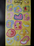 sd100319 Tweety glittersticker
