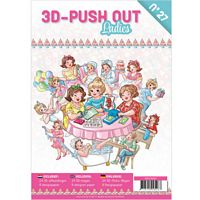 3D Push out Book 27 Ladies